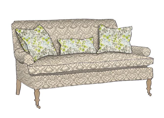 Custom Sofa Design   Fawn